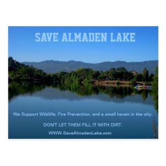 Save Almaden Lake Post Card