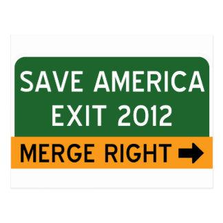 Save America Repulican Postcard