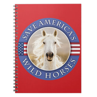 Save America's Wild Horses Notebook