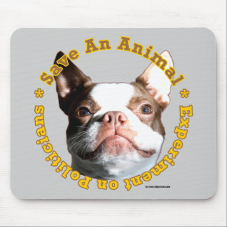 Save An Animal-Dog Mousepad
