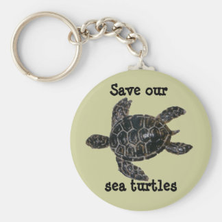 Save and Protect Sea Turtles Key Ring
