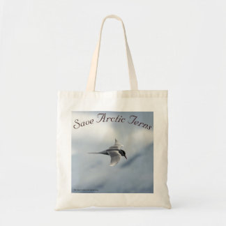 Save Arctic Terns Bag by RoseWrites