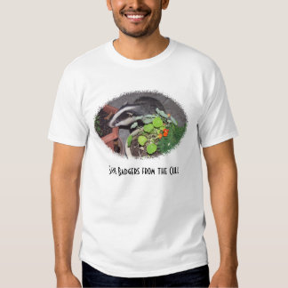 Save Badgers from Cull T-shirts, lovely Baby Photo Tee Shirt