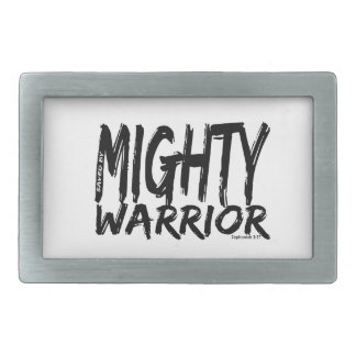 Save by Mighty Warrior Belt Buckles