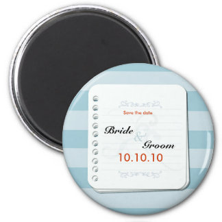 Save by The Blues 6 Cm Round Magnet