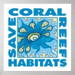 Save Coral Reefs Print