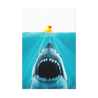 Save Ducky Canvas Print