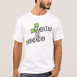 Save, Earth, Green Blocks T-shirt