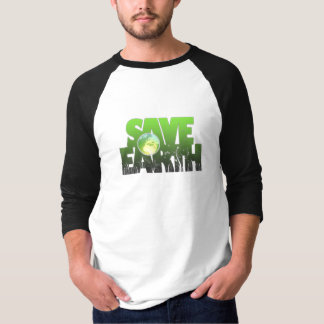 Save Earth Logotext Tshirt