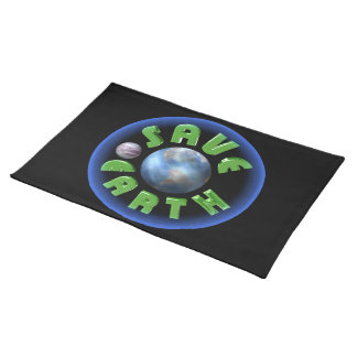 Save Earth on 100+ products by Valxart.com Placemat