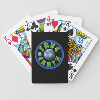 Save Earth on 100+ products by Valxart com Bicycle Playing Cards