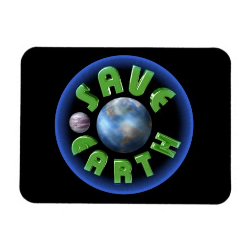 Save Earth on 100+ products by Valxart.com Flexible Magnet