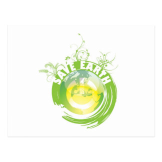 Save Earth postcard