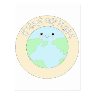 Save earth & protect our planet.jpg postcard