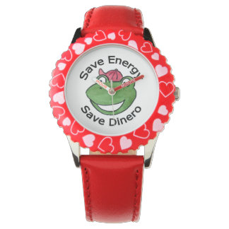 Save Energy Dinero Watch by Green Eco Warriors Inc