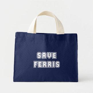 Save Ferris Tote Bags