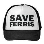 SAVE-FERRIS TRUCKER HAT