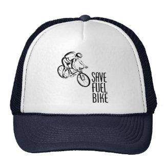Save Fuel Biking Mesh Hat
