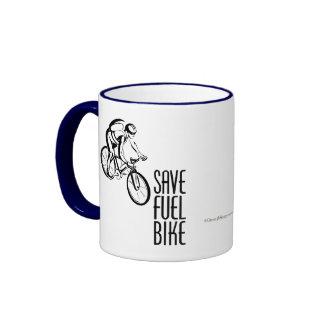 Save Fuel Biking Mug