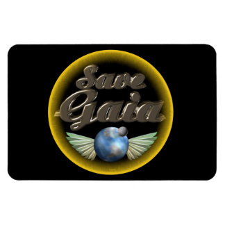 Save Gaia our Earth Flexible Magnets