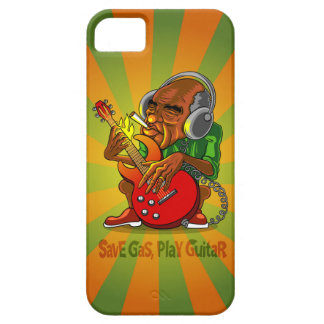 save gas, play guitar iPhone 5 covers
