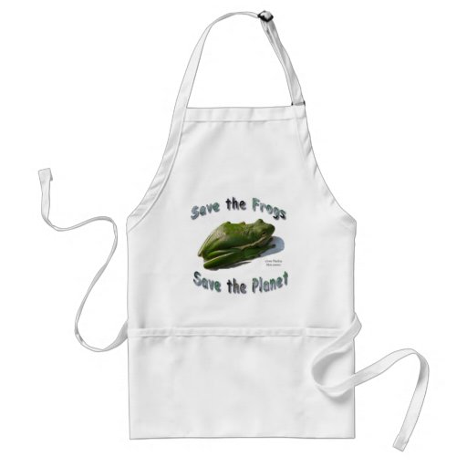 Save Green Treefrogs Aprons