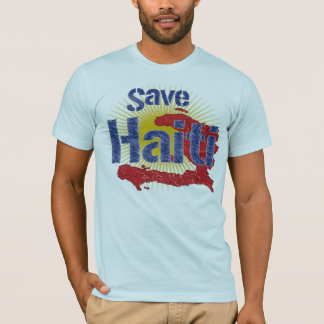 Save Haiti (Blue)  - Proceeds go to RED CROSS T-Shirt