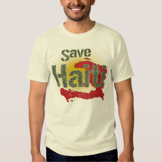 Save Haiti (Green) - Proceeds go to RED CROSS Shirt