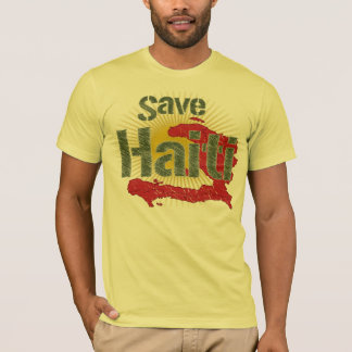 Save Haiti (Green) - Proceeds go to RED CROSS T-Shirt