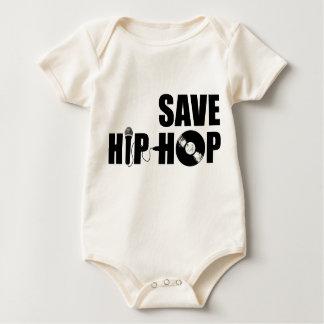 Save Hip-Hop Baby Bodysuit