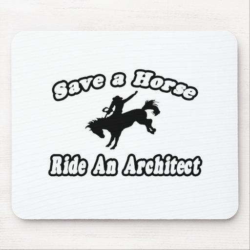 Save Horse, Ride Architect Mousepad