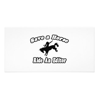 Save Horse Ride Editor Picture Card