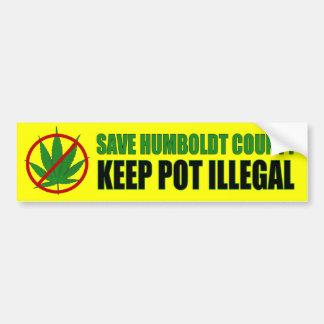 Save Humboldt County Bumper Sticker
