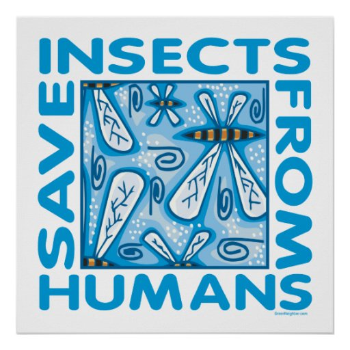 Save Insects Print