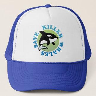 Save Killer Whales Trucker Hat