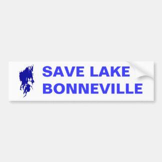 Save Lake Bonneville Bumper Sticker