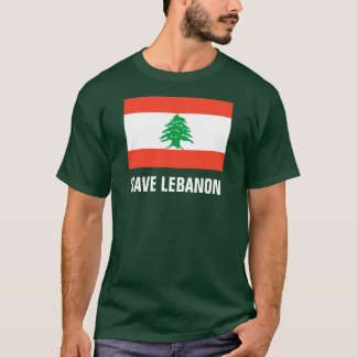 Save Lebanon Forest Green T-Shirt