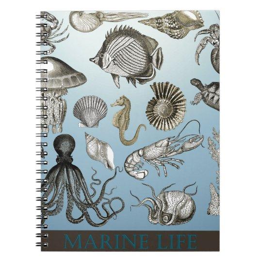 Save Marine Life! Spiral Notebook