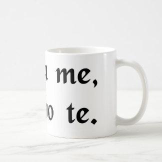 Save me and I will save you. Basic White Mug