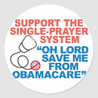 SAVE ME FROM OBAMACARE Stickers