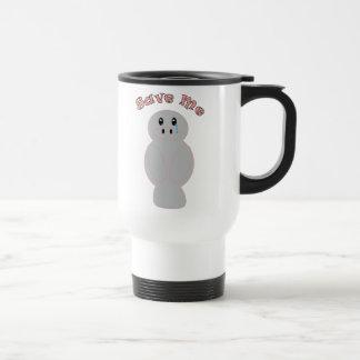 Save Me Manatee Mug