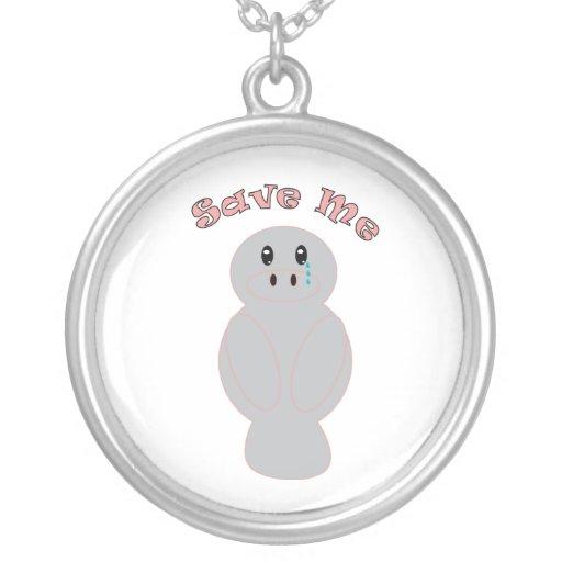 Save Me Manatee Necklace