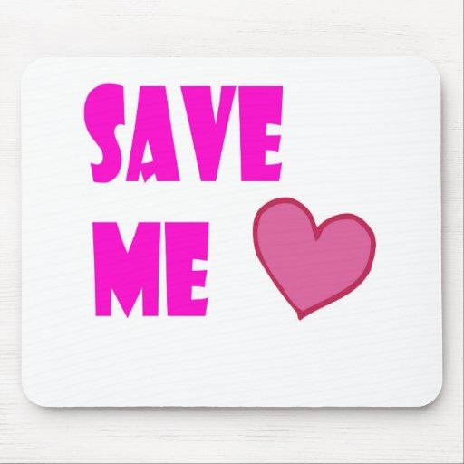 save me mousepad