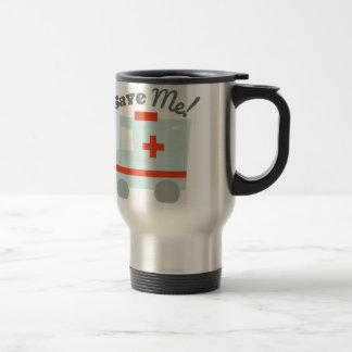 Save Me Stainless Steel Travel Mug