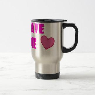 save me 15 oz stainless steel travel mug