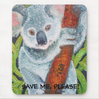 SAVE ME, PLEASE! MOUSE PAD