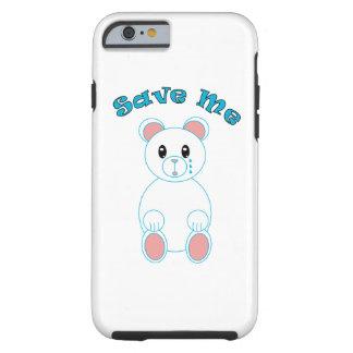 Save Me (Polar Bear) Tough iPhone 6 Case