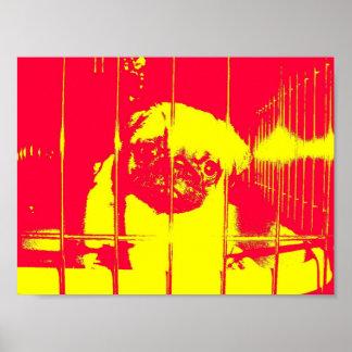Save Me, Pug Poster