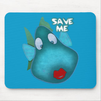Save me SAVE THE WHALES Mouse Pads