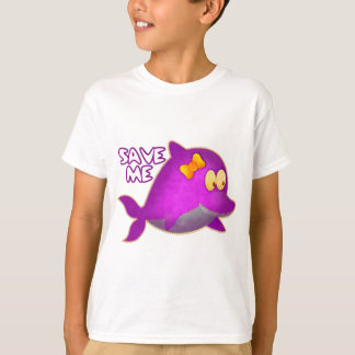 Save Me SAVE THE WHALES T-Shirt